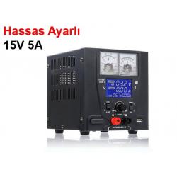 Yihua 1505D Güç kaynağı, 15V 5A