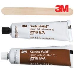 3M Scotch-Weld 2216 B/A, Gri Epoksi Yapıştırıcı, 59.1ml + 38.4 ml Kit
