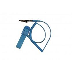 ESD Bileklik Set - Kumaş - 1.5 m uzunluk 10mm ÇıtÇıt mavi